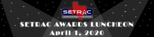 Click here for SETRAC Awards
